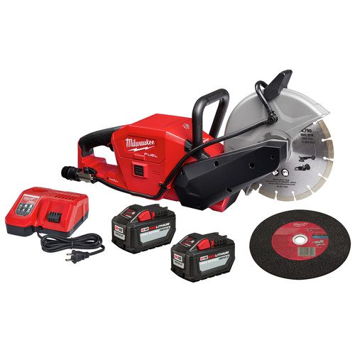 Milwaukee 2786-22HD M18 FUEL Lithium-Ion 9 in. Cut-Off Saw Kit with ONE-KEY (12 Ah) image number 0