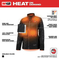 Milwaukee 233B-212X M12 12V Li-Ion Heated Women's AXIS Jacket Kit - 2XL image number 3