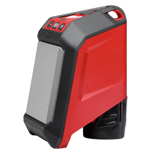 Milwaukee 2592-21 M12 12V Wireless Jobsite Speaker Kit with Battery and Charger image number 2