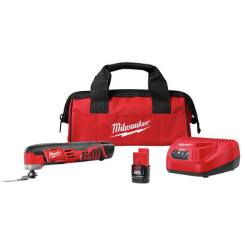 Milwaukee 2426-22 M12 Cordless Lithium-Ion Multi-Tool Kit
