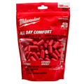 Milwaukee 48-73-3005 100-Pair Ear Plugs image number 1