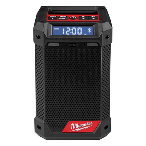 Milwaukee 8-8 M8 Lithium-Ion Cordless Jobsite Radio/Bluetooth Speaker  with Built-In Charger (Tool Only)