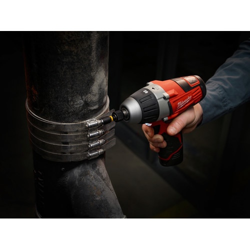 Milwaukee 2455-22 M12 12V Cordless Lithium-Ion No-Hub Driver Kit image number 4