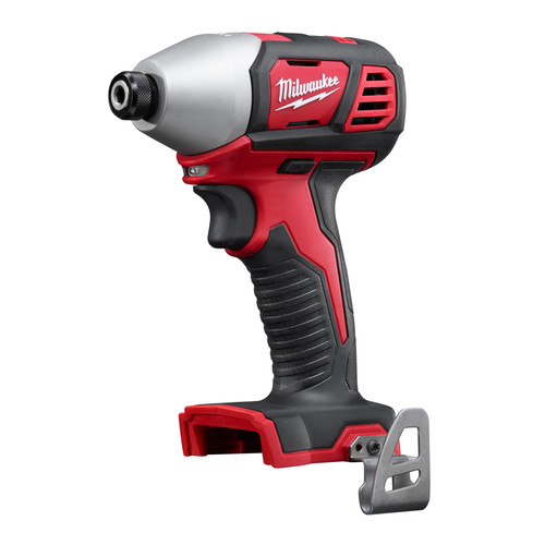 Milwaukee 2656-21L M18 18V Cordless Lithium-Ion 1/4 in. Hex Impact Driver Kit with Free LED Work Light image number 1