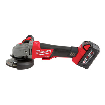 Milwaukee 2783-22 M18 FUEL Cordless 4-1/2 in. - 5 in. Braking Angle Grinder Kit image number 2