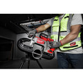 Milwaukee 2729S-22 M18 FUEL Cordless Lithium-Ion Deep Cut Dual-Trigger Band Saw Kit (5 Ah) image number 8