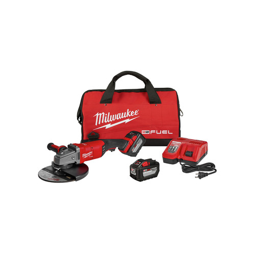 Milwaukee 2785-22HD M18 FUEL 7 in. / 9 in. Large Angle Grinder Kit image number 0