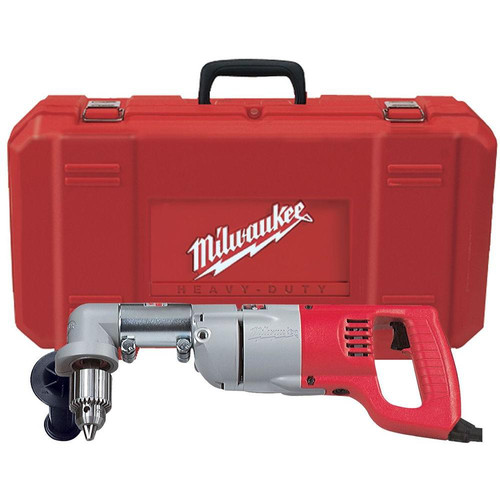 Milwaukee 3107-6 7 Amp 1/2 in. Corded Right Angle Drill with D-Handle and Case