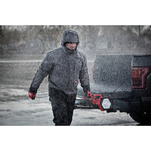 Milwaukee 203RN-21XL M12 3-in-1 Heated AXIS Jacket Kit with Rainshell image number 9