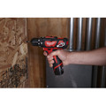 Milwaukee 2408-21 M12 Lithium-Ion 3/8 in. Cordless Hammer Drill Driver Kit (2 Ah) image number 3