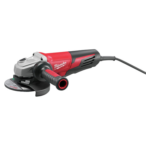 Milwaukee 6161-30 6 in. 13 Amp Small Angle Grinder with Paddle Switch (Lock-On)