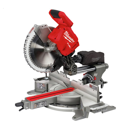 Milwaukee 2739-20 M18 FUEL Cordless Lithium-Ion 12 in. Dual Bevel Sliding Compound Miter Saw (Tool Only)