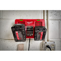 Milwaukee 48-59-1802 M18 Dual Bay Simultaneous Rapid Lithium-Ion Charger image number 15