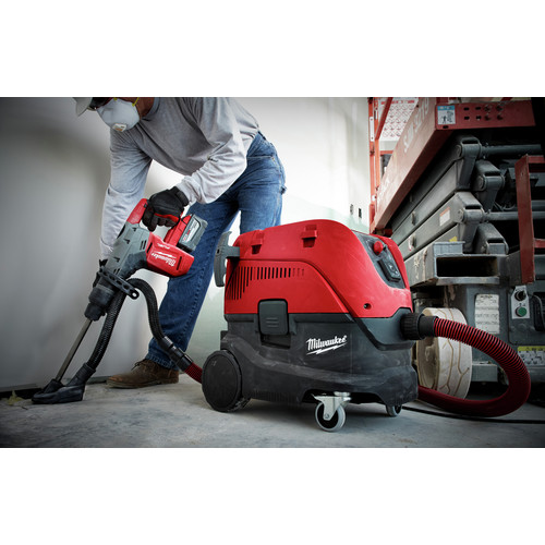 Milwaukee 2717-22HD M18 FUEL 9.0 Ah Cordless Lithium-Ion 1-9/16 in. Rotary Hammer Kit with 2 Batteries image number 3