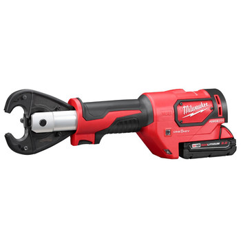 Milwaukee 2678-22 M18 Force Logic 18V 2.0 Ah Cordless Lithium-Ion 6T Utility Crimper Kit with D3 in.Snub Nose in. Groves image number 1