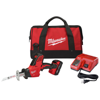 Milwaukee 2625-21CT M18 Lithium-Ion Hackzall Reciprocating Saw with Compact Lithium-Ion Battery image number 0