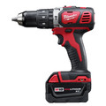 Milwaukee 2607-22 M18 Lithium-Ion XC Compact 1/2 in. Cordless Hammer Drill Driver Kit (3 Ah) image number 2