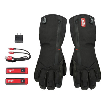 Milwaukee 561-21M REDLITHIUM USB Heated Gloves Kit - Medium