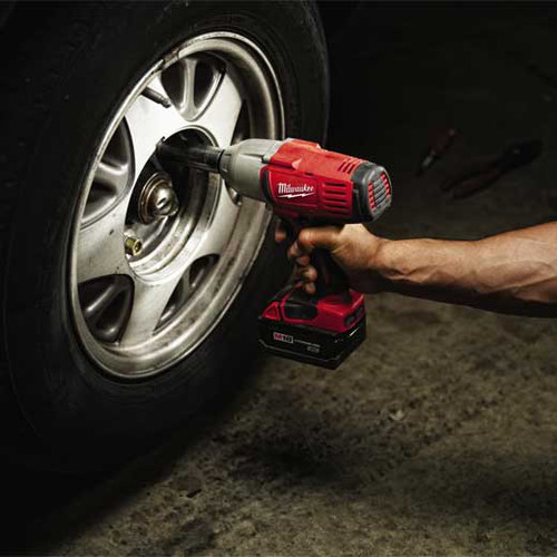 Factory Reconditioned Milwaukee 2663-82 M18 Cordless 1/2 in. Lithium-Ion Impact Wrench with 2 Batteries image number 1