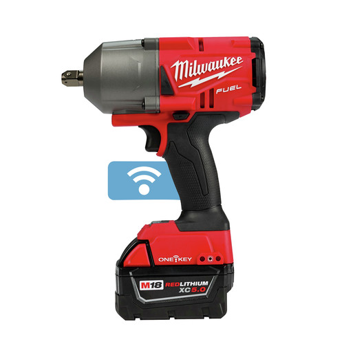 Factory Reconditioned Milwaukee 2862-82 M18 FUEL with ONEKEY High Torque Impact Wrench 1/2 in. Pin Detent Kit image number 2