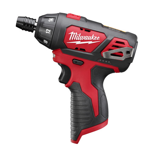 Milwaukee 2401-20 M12 Lithium-Ion Sub-Compact Screwdriver (Tool Only)