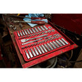 Milwaukee 48-22-9008 56-Piece 3/8 in. Drive SAE and Metric Ratchet and Socket Set image number 5