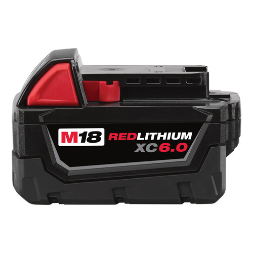 Milwaukee 48-11-1860 M18 REDLITHIUM XC 6 Ah Lithium-Ion Battery image number 0