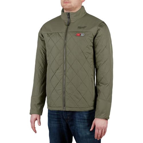 Milwaukee 203OG-20L M12 Heated AXIS Jacket (Jacket Only) - Olive Green, Large image number 6