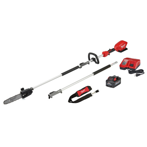 Milwaukee 2825-21PS M18 FUEL 10 in. Pole Saw Kit with QUIK-LOK image number 0
