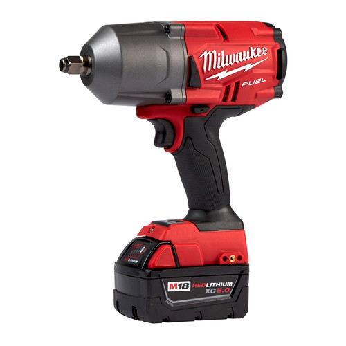 Milwaukee 2767-22 M18 FUEL High Torque 1/2 in. Impact Wrench with Friction Ring (Kit) image number 2