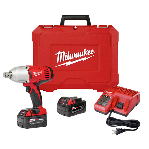 Milwaukee 2664-22 M18 18V Cordless 3/4 in. Lithium-Ion Impact Wrench