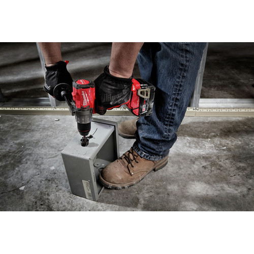 Factory Reconditioned Milwaukee 2806-80 M18 FUEL Lithium-Ion Brushed 1/2 in. Cordless Hammer Drill with ONE-KEY (Tool Only) image number 3
