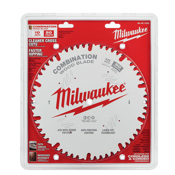 Milwaukee 48-40-1026 10 in. 50T Combination Circular Saw Blade image number 1
