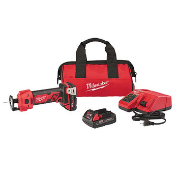Milwaukee 2627-22CT M18 18V 1.5 Ah Cordless Lithium-Ion Cut Out Tool Kit
