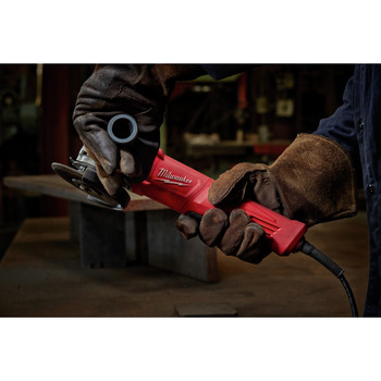 Milwaukee 6142-31 4-1/2 in. Small Angle Grinder No-Lock image number 4