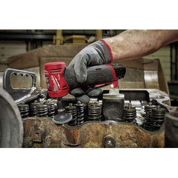 Milwaukee 2485-22 M12 FUEL Lithium-Ion Right Angle Die Grinder Kit (2 Ah) image number 6
