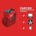 Milwaukee 2846-20 M18 TOP-OFF Lithium-Ion 175-Watt Cordless Portable Power Supply Inverter (Tool Only) image number 3