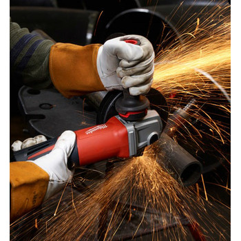 Factory Reconditioned Milwaukee 6161-830 6 in. 13 Amp Small Angle Grinder with Paddle Switch (Lock-On) image number 1