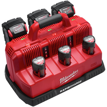 Milwaukee 48-59-1807 M18 and M12 Rapid Charge Station image number 2