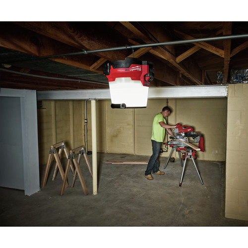 Milwaukee 2146-20 M18 Lithium-Ion Radius LED Compact Site Light with One Key (Tool Only) image number 6