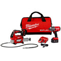 Milwaukee 2767-22GG M18 FUEL 1/2 in. High Torque Impact Wrench with Friction Ring and Free Grease Gun Kit
