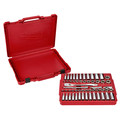 Milwaukee 48-22-9008 56-Piece 3/8 in. Drive SAE and Metric Ratchet and Socket Set image number 2