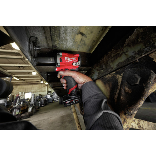 Factory Reconditioned Milwaukee 2555-80 M12 FUEL Stubby 1/2 in. Impact Wrench with Friction Ring (Tool Only) image number 4
