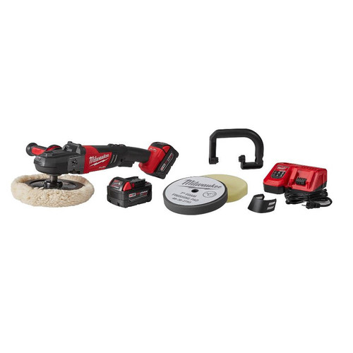 Milwaukee 2738-22P M18 FUEL 18V Lithium-Ion 7 in. Variable Speed Polisher Kit with Pad for 2738-20s