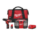 Milwaukee 2492-22 M12 Lithium-Ion 3/8 in. Drill Driver & Portable Radio Kit