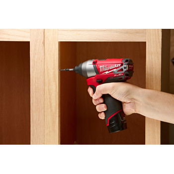 Factory Reconditioned Milwaukee 2453-80 M12 FUEL Cordless Lithium-Ion 1/4 in. Hex Impact Driver (Tool Only) image number 4