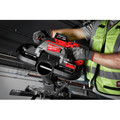 Milwaukee 2729S-22 M18 FUEL Cordless Lithium-Ion Deep Cut Dual-Trigger Band Saw Kit (5 Ah) image number 10