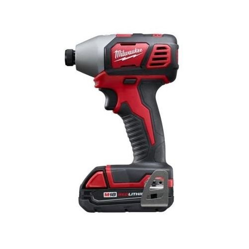 Factory Reconditioned Milwaukee 2656-81 M18 18V Cordless Lithium-Ion 1/4 in. Hex Impact Driver