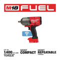 Milwaukee 2863-20 M18 FUEL with ONEKEY High Torque Impact Wrench 1/2 in. Friction Ring (Tool Only) image number 2