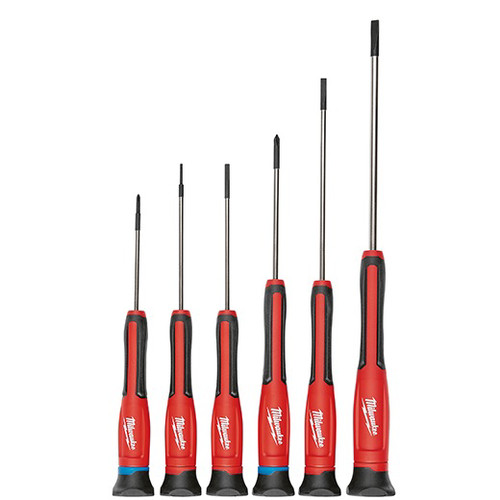 Milwaukee 48-22-2606 6-Piece Precision Screwdriver Set with Case